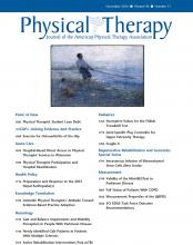 Physical Therapy: 96 (11)
